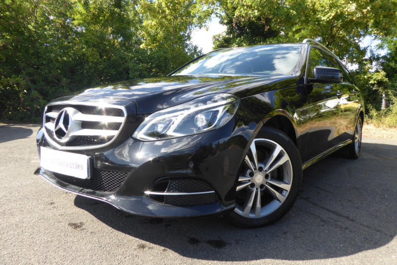Mercedes-Benz CLASSE E BREAK (S212) 350 BLUETEC FASCINATION 9G-TRONIC Diesel NOIR Occasion à vendre